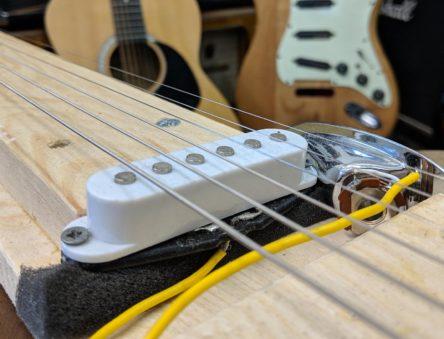 partially built lapsteel guitar