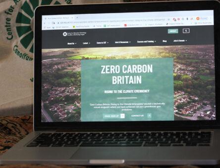 Zero Carbon Britain web page