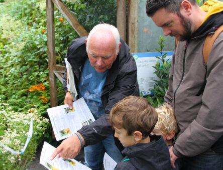 Clive leading our nature explorer