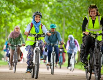 Cycling in Waltham Forest
